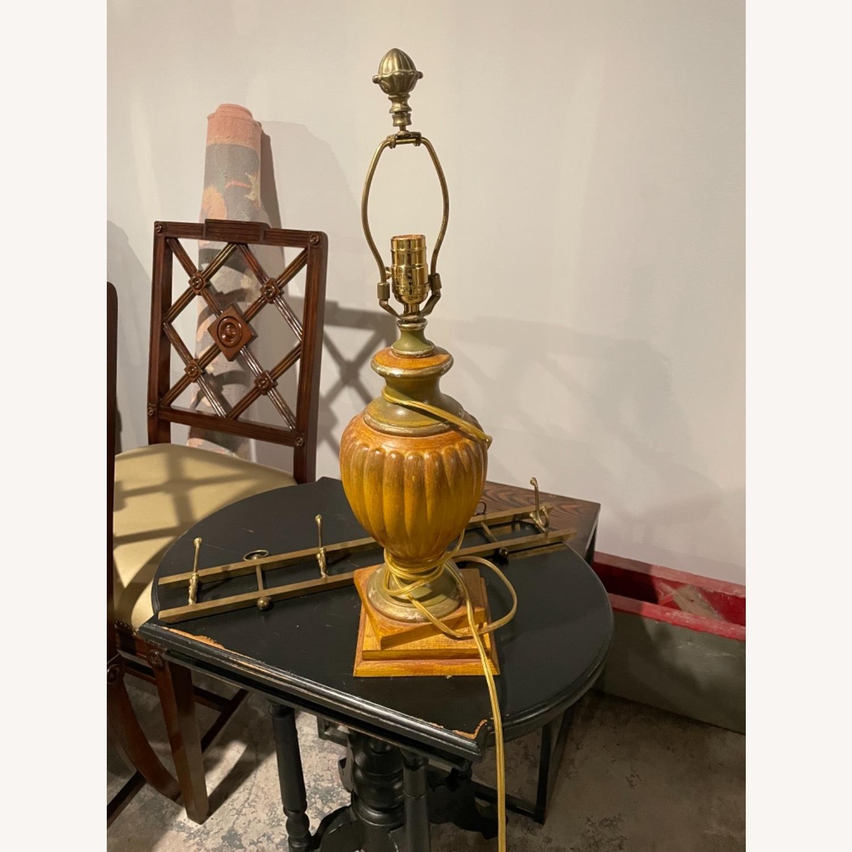 Vintage Gold Lamp (no shade) - image-1