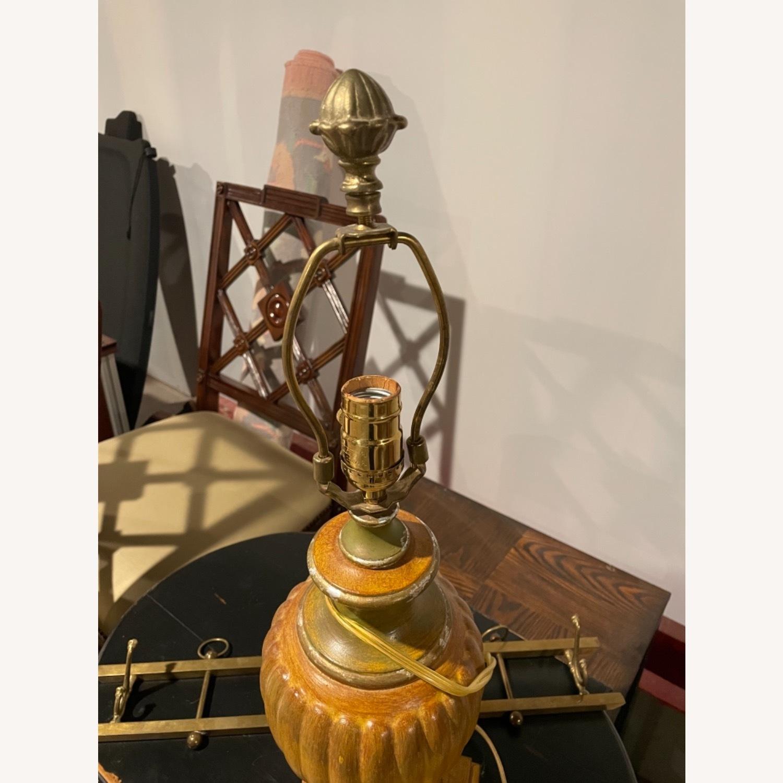 Vintage Gold Lamp (no shade) - image-3