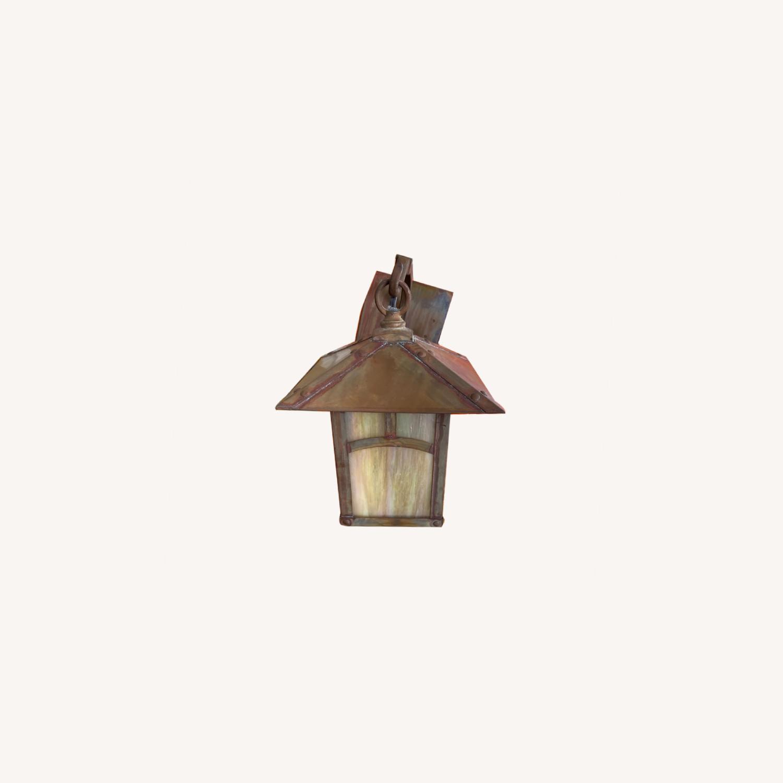 Vintage-look Wall Lantern - image-0