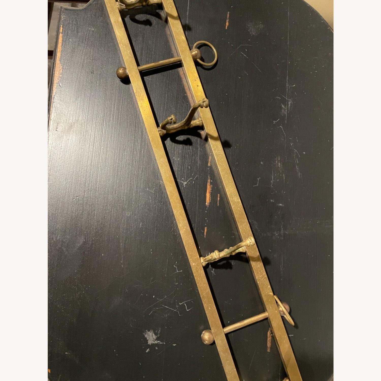 Gold Wall Hanging Coat Rack - image-3