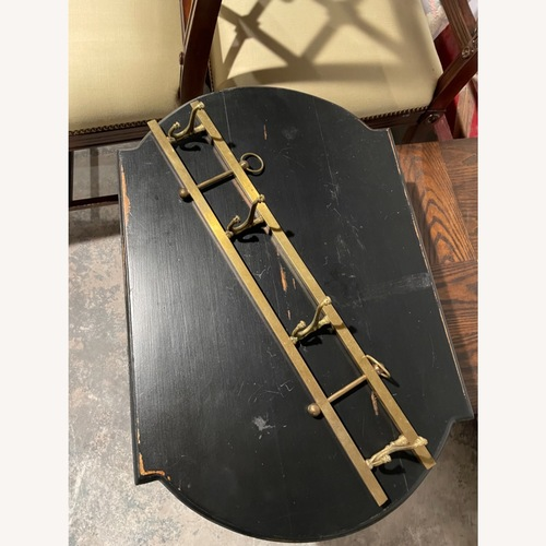 Used Gold Wall Hanging Coat Rack for sale on AptDeco