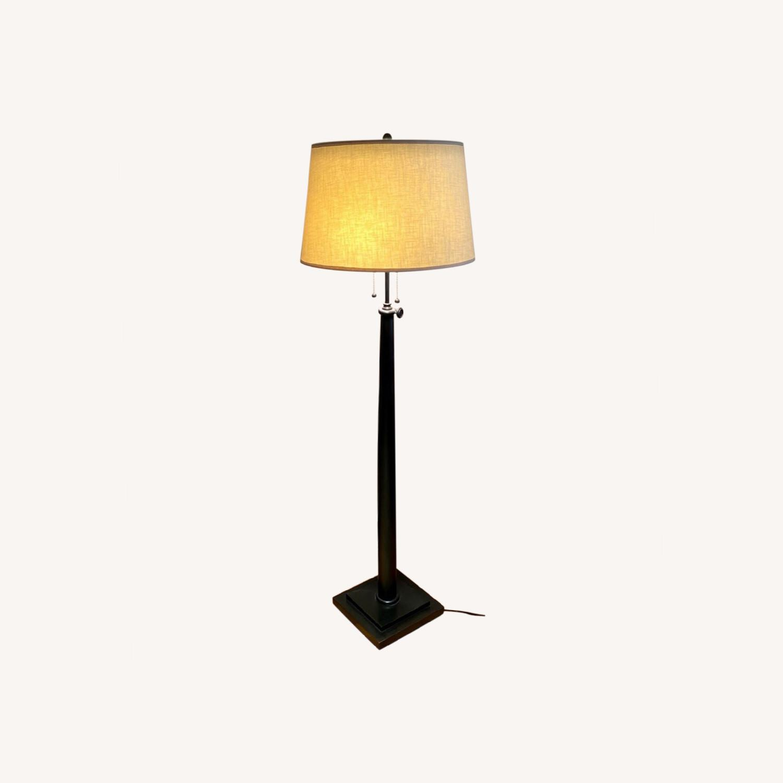 Restoration Hardware Floor Lamp - image-0