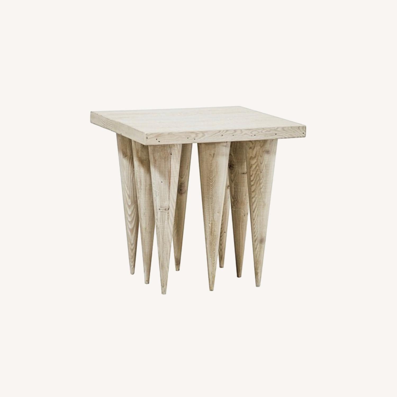 Spike Leg Side Table - image-0