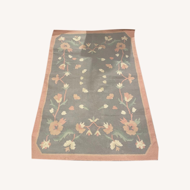 Floral Patterned Rug - image-0