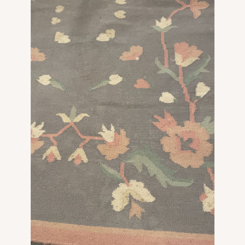 Floral Patterned Rug - image-1