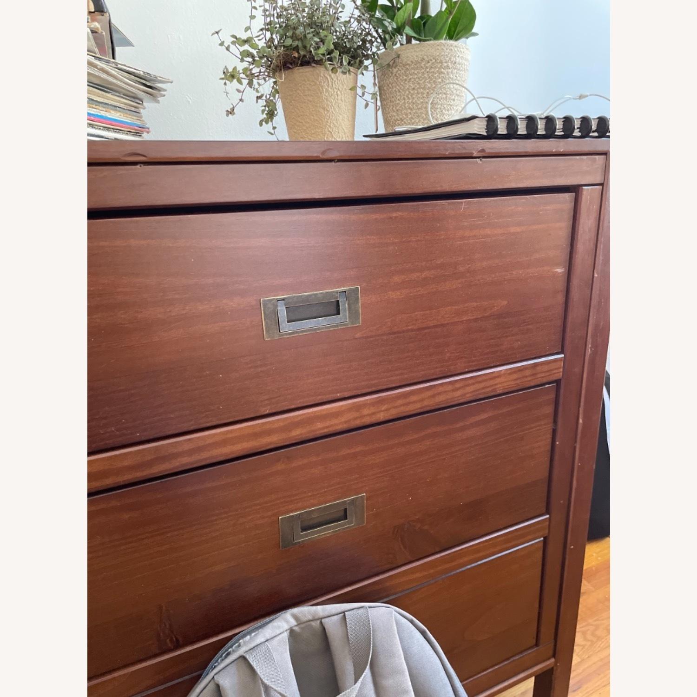Walker Edison Solid Wood 6 Drawer Dresser - image-3
