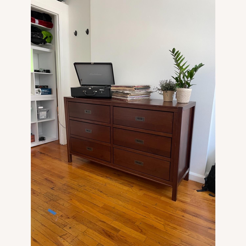 Walker Edison Solid Wood 6 Drawer Dresser - image-1