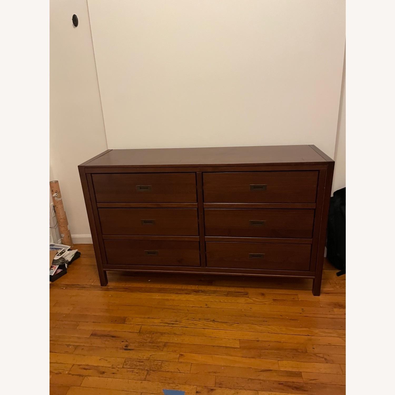 Walker Edison Solid Wood 6 Drawer Dresser - image-5
