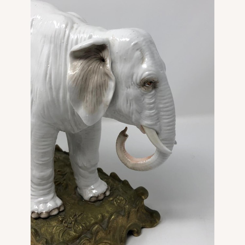 Antique 1800s French Sampson Porcelain Elephant - image-5