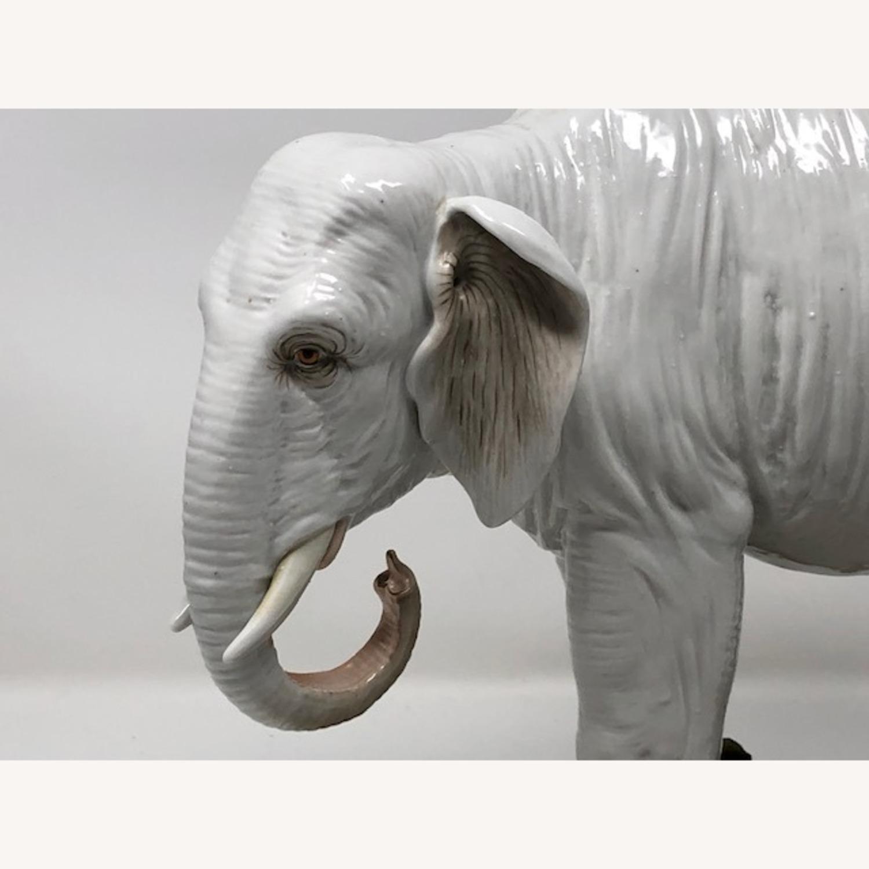 Antique 1800s French Sampson Porcelain Elephant - image-2