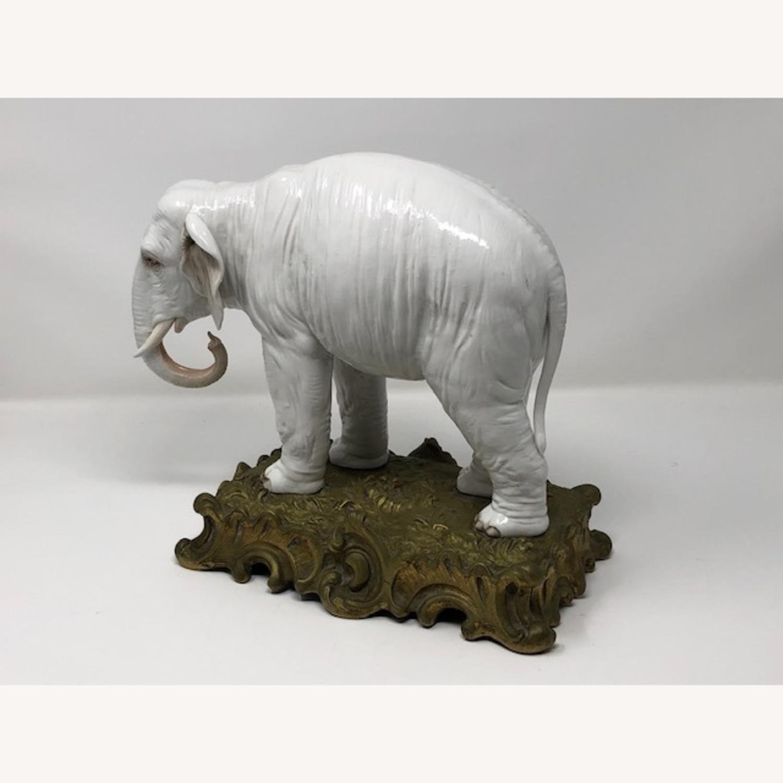 Antique 1800s French Sampson Porcelain Elephant - image-6