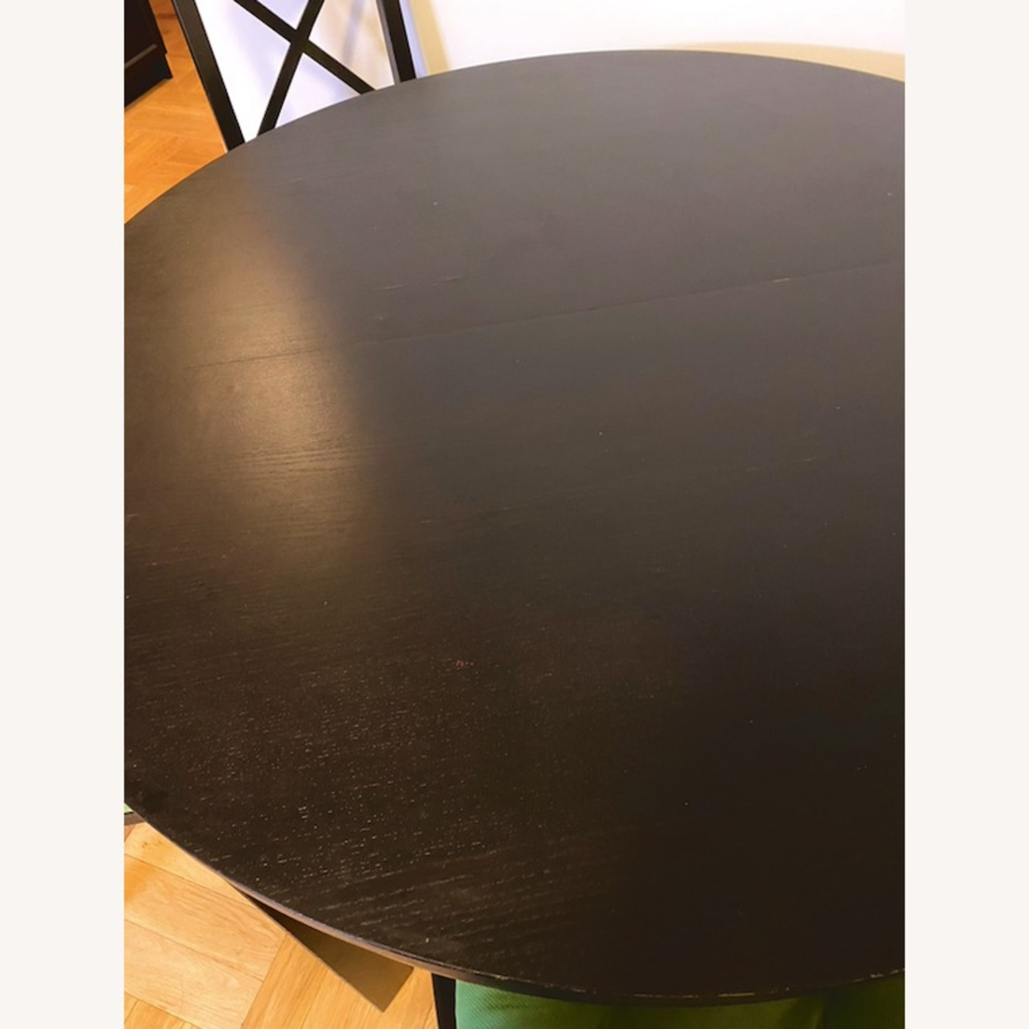 IKEA Dining Set - BJURSTA Table with INGOLF Chairs - image-3