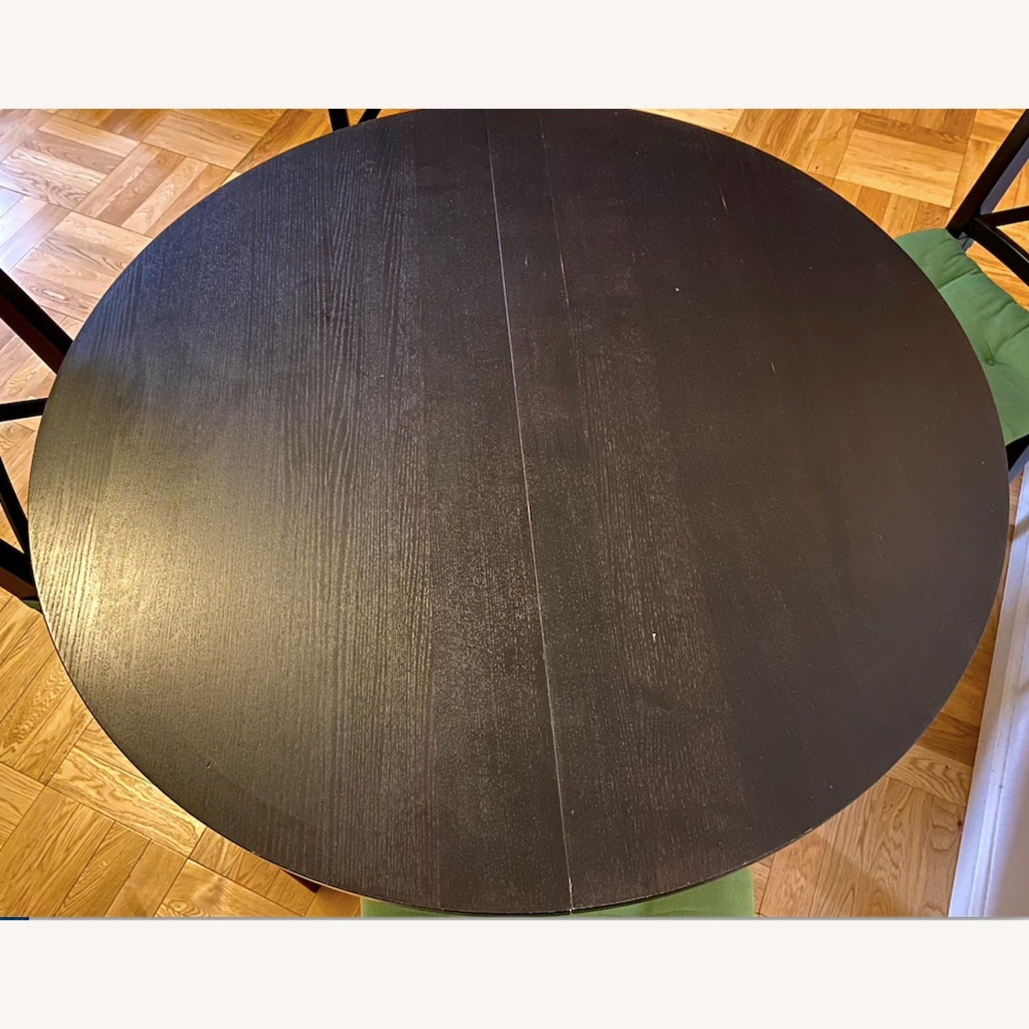 IKEA Dining Set - BJURSTA Table with INGOLF Chairs - image-5