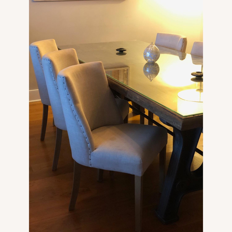 Restoration Hardware Dining Chairs (Set of 6) - image-2
