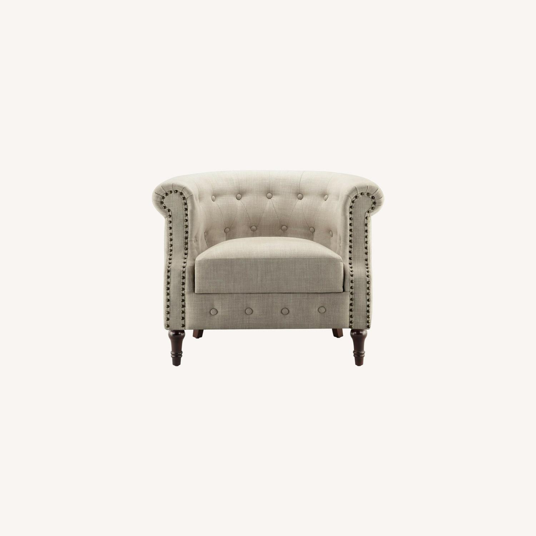 Wayfair Brookhill 33'' Wide Tufted Armchair - image-0