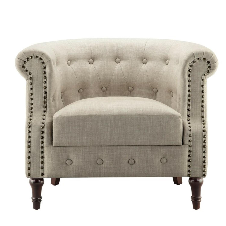 Wayfair Brookhill 33'' Wide Tufted Armchair - image-1