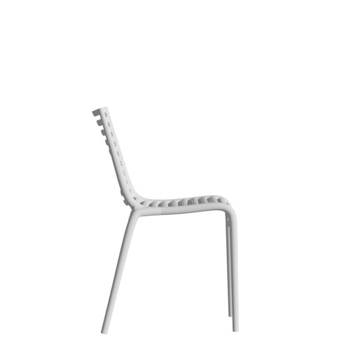 Used Philippe Starck Pip-e Chairs (White, Set of 4) for sale on AptDeco