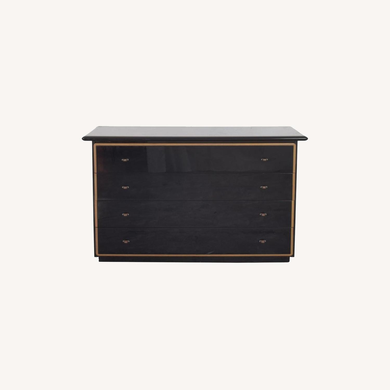 Maurice Villency Four Drawer Deco Dresser - image-0