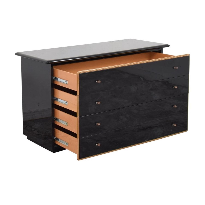 Maurice Villency Four Drawer Deco Dresser - image-2