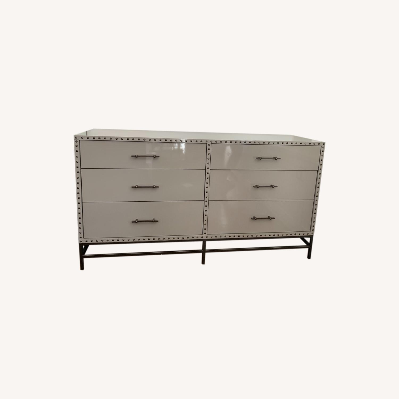 West Elm Lacquer 6-Drawer Dresser - image-0