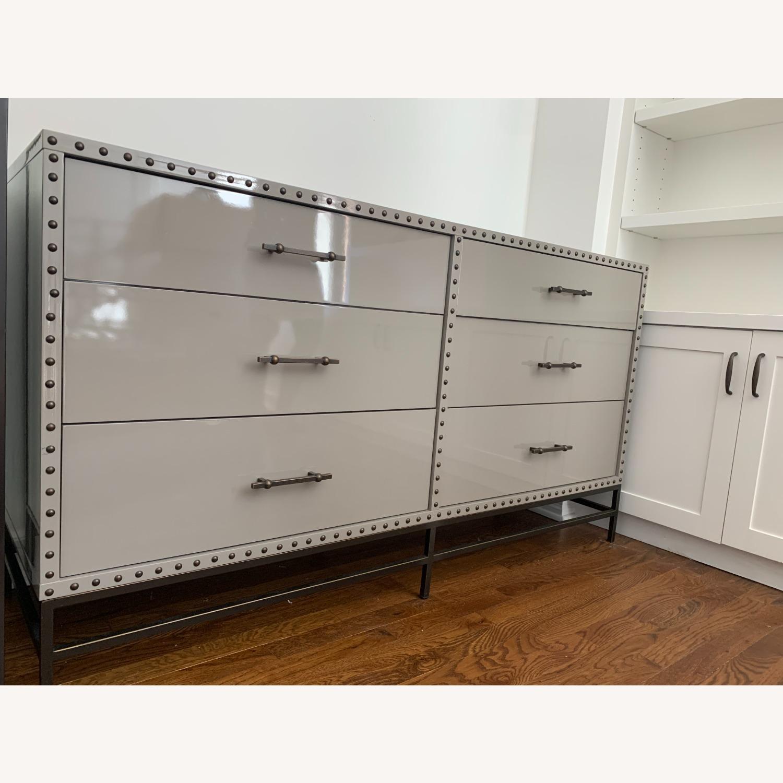 West Elm Lacquer 6-Drawer Dresser - image-2