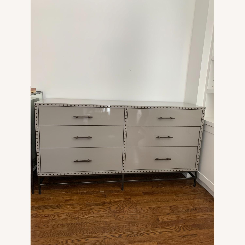 West Elm Lacquer 6-Drawer Dresser - image-1
