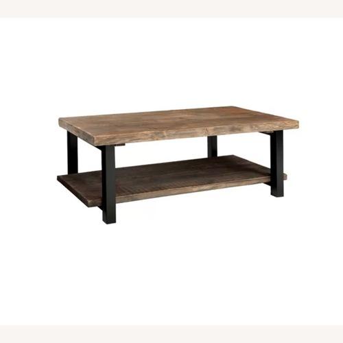 Used Wayfair Wood Coffee Table for sale on AptDeco