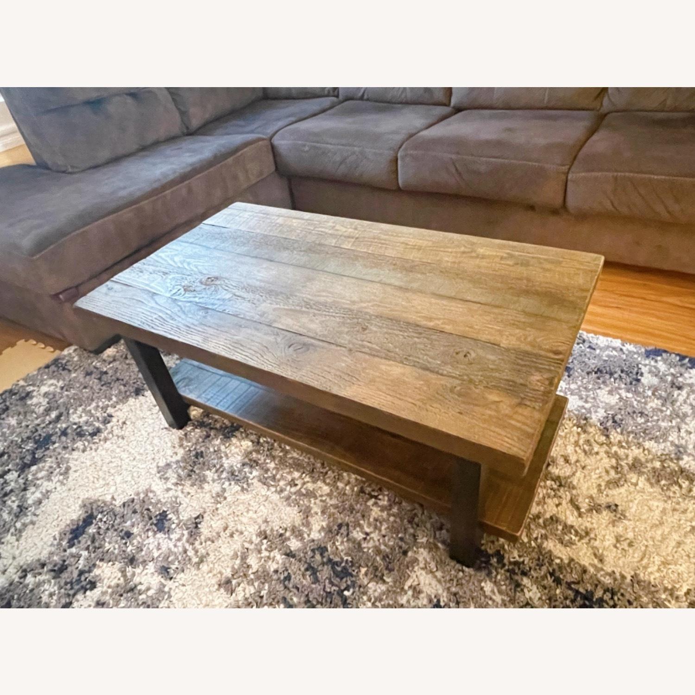 Wayfair Wood Coffee Table - image-9