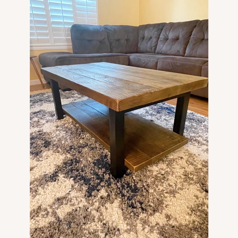 Wayfair Wood Coffee Table - image-8