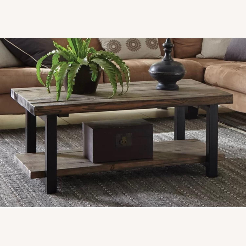 Wayfair Wood Coffee Table - image-17