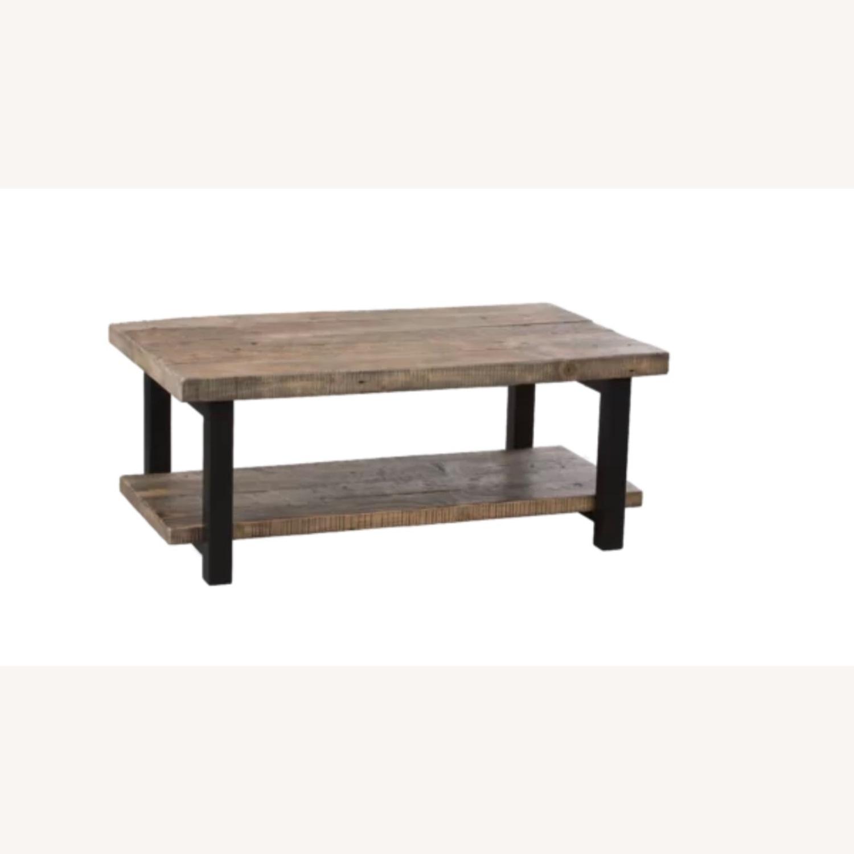 Wayfair Wood Coffee Table - image-6