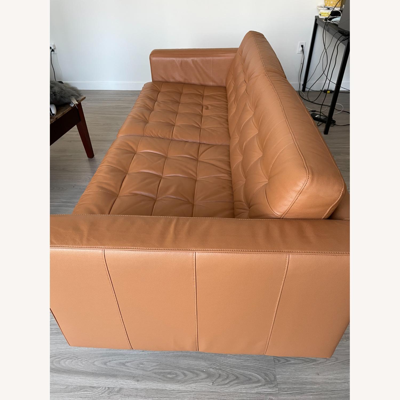 IKEA MORABO Sofa, Grann/Bomstad Golden Brown/Metal - image-3