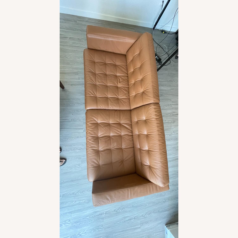 IKEA MORABO Sofa, Grann/Bomstad Golden Brown/Metal - image-2