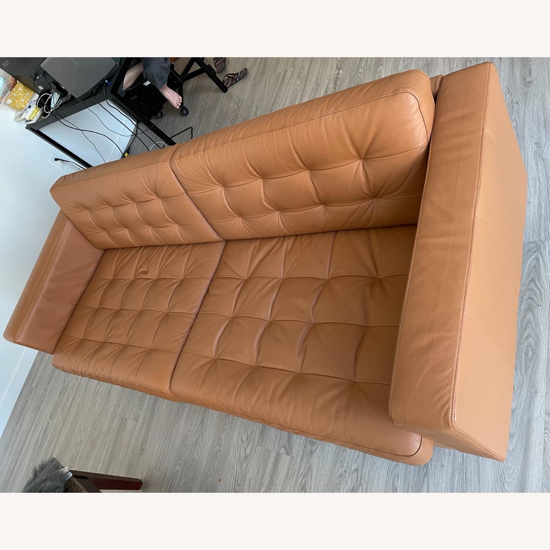 IKEA MORABO Sofa, Grann/Bomstad Golden Brown/Metal - image-4