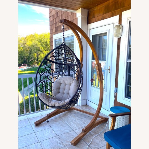 Used Christopher Knight Home Hammock Chair for sale on AptDeco