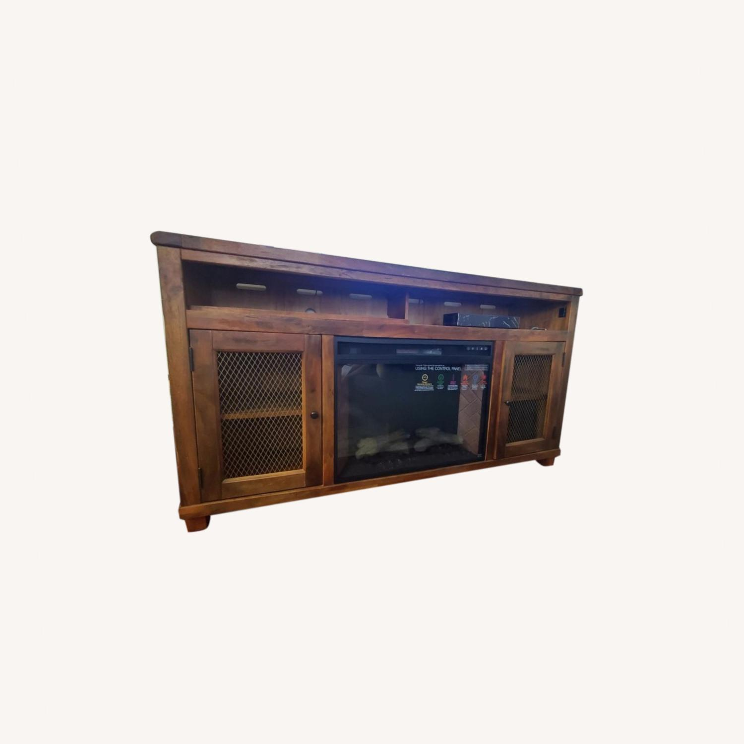 Ashley Furniture Credenza with a Fire Place, TV Stand - image-0
