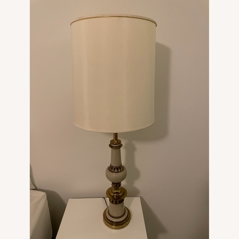 Vintage Gold Floor Lamp - image-2