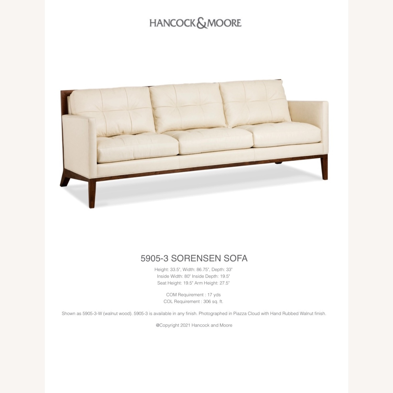 Hancock and Moore Sorensen Leather Sofa - image-10