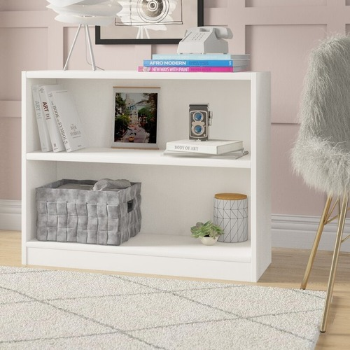 Used Wayfair White Standard Bookcase for sale on AptDeco