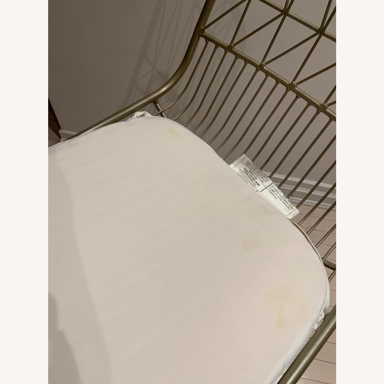Wayfair Mid Century Modern Gold Chairs - image-6