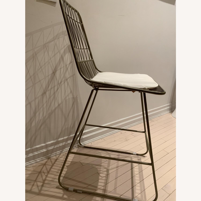 Wayfair Mid Century Modern Gold Chairs - image-2