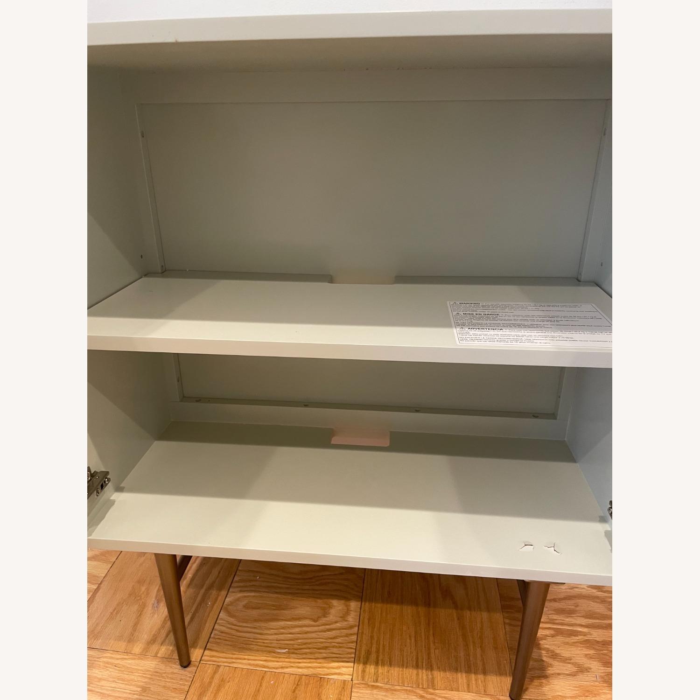 West Elm Audrey Cabinet - Parchment - image-5