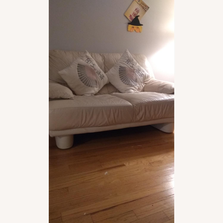 2 Seater Leather Sofa - image-3