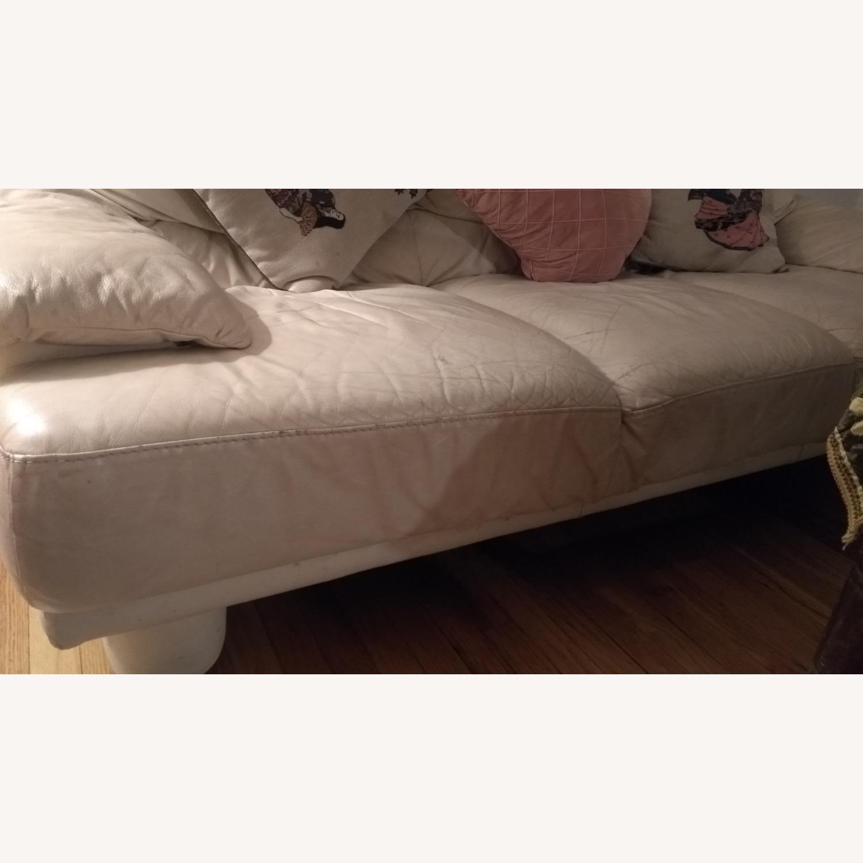 3 Seater Leather Sofa - image-3