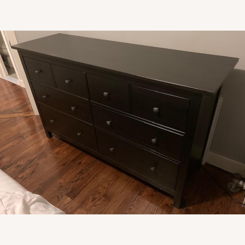IKEA Hemnes Black-Brown Dresser - image-1