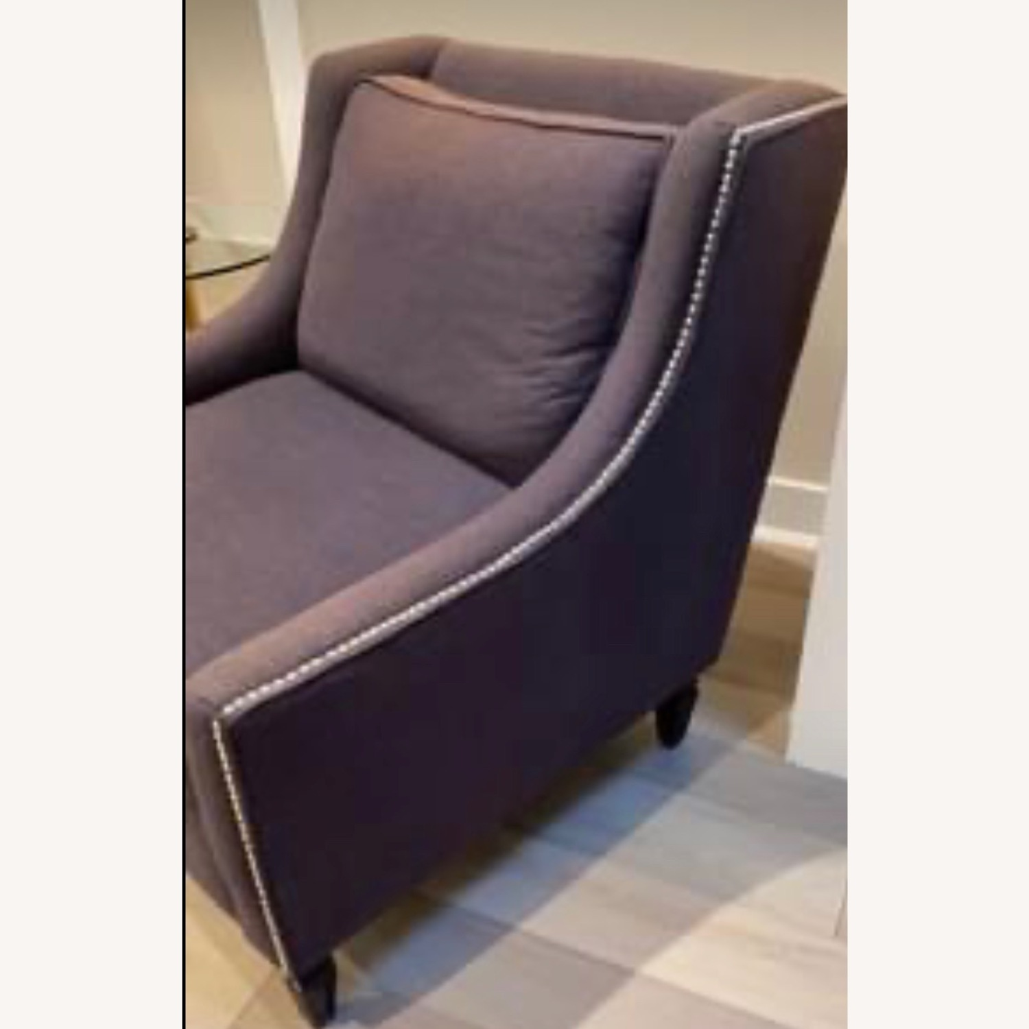 Z gallerie Gray Arm Chair - image-2