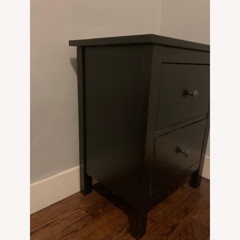 IKEA Hemnes Black-Brown Nightstand Pair - image-5
