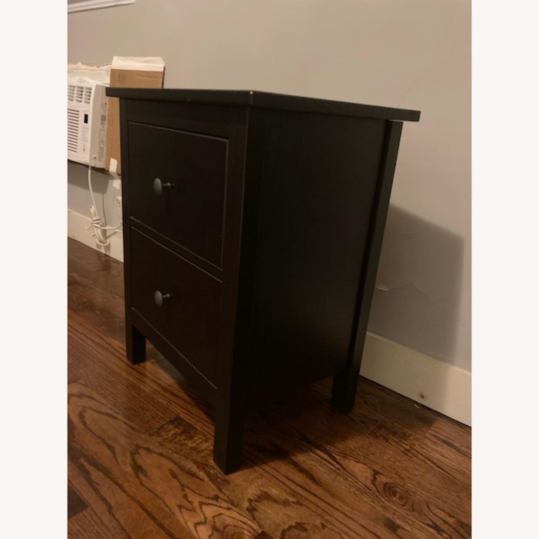 IKEA Hemnes Black-Brown Nightstand Pair - image-4