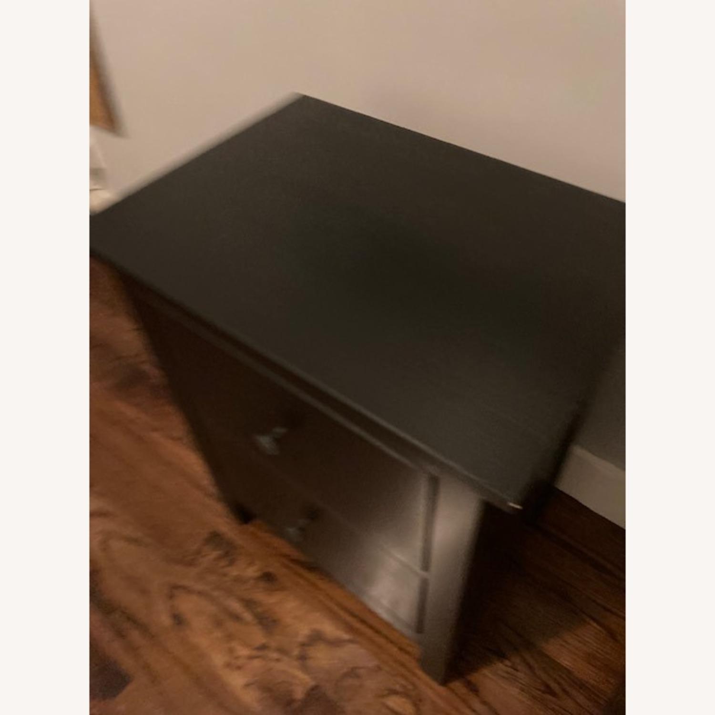 IKEA Hemnes Black-Brown Nightstand Pair - image-8
