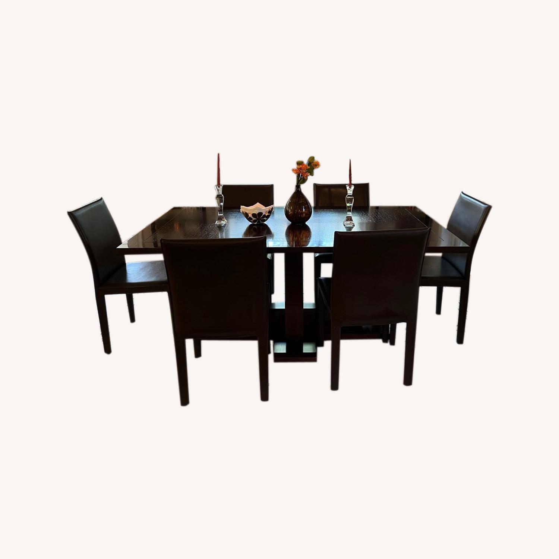 Dining Room Pedestal Table - image-0
